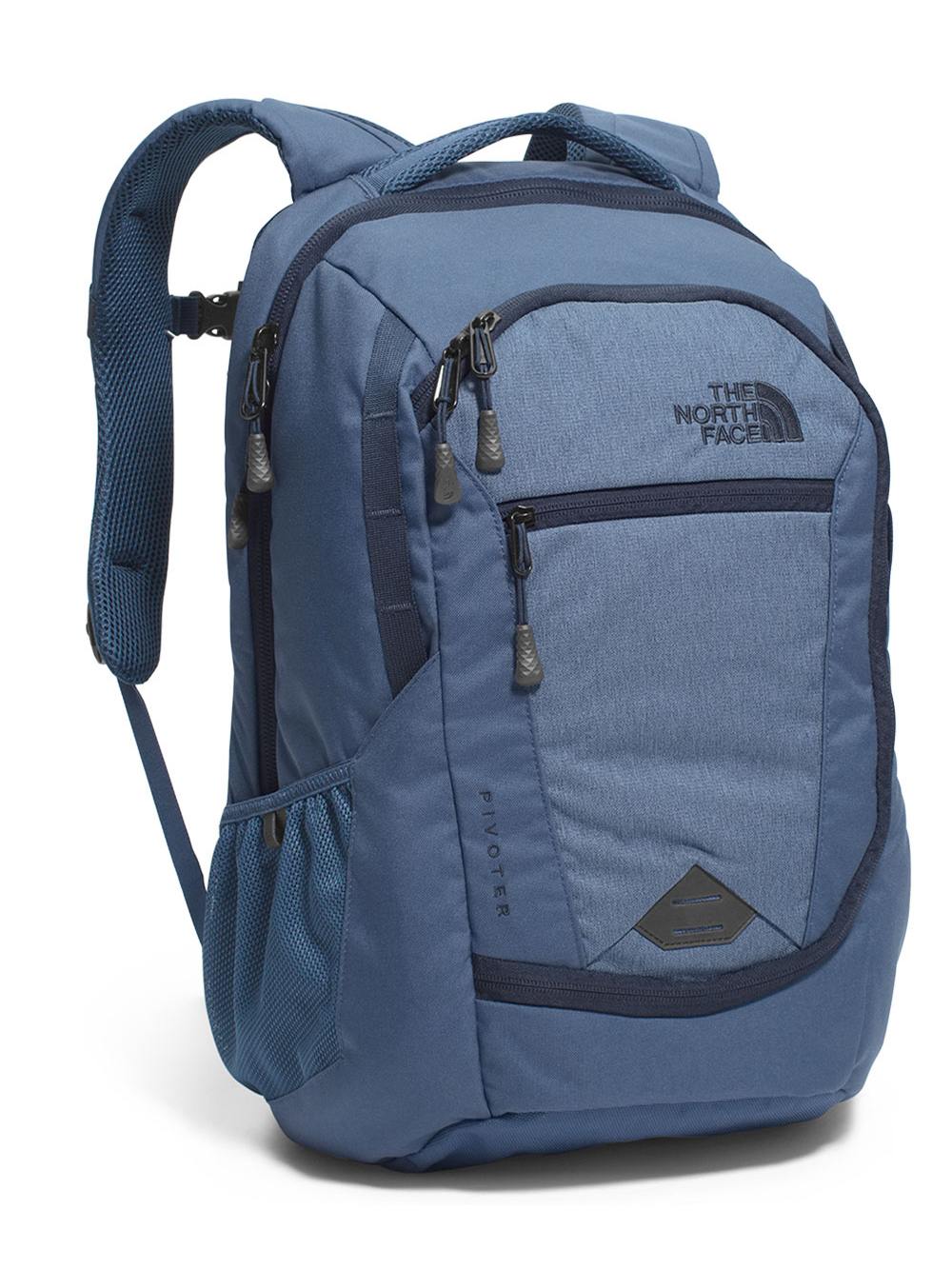 The North Face Pivoter Backpack - shady blue heather/urban navy, one size