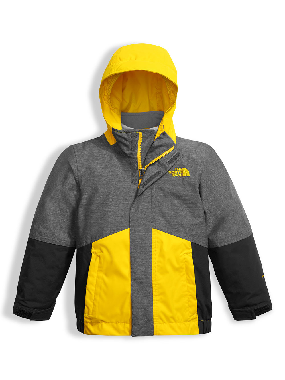 28ecc013c Toddler Boundary Triclimate Jacket by The North Face in cosmic blue heather  and tnf medium gray heather