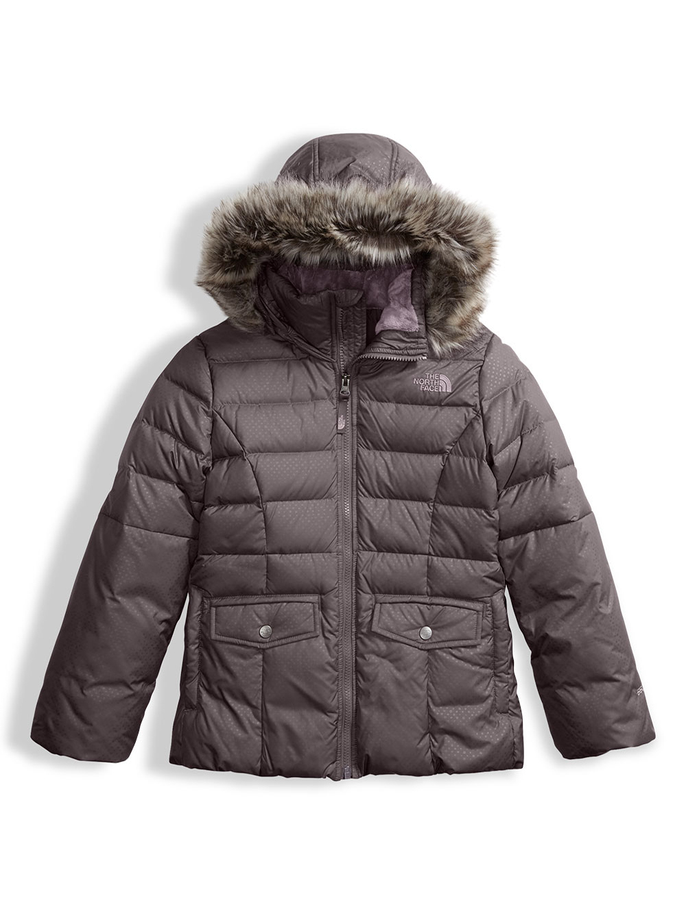 fe7e24b75 The North Face Big Girls' Gotham 2.0 Down Jacket (Sizes 7 – 18)