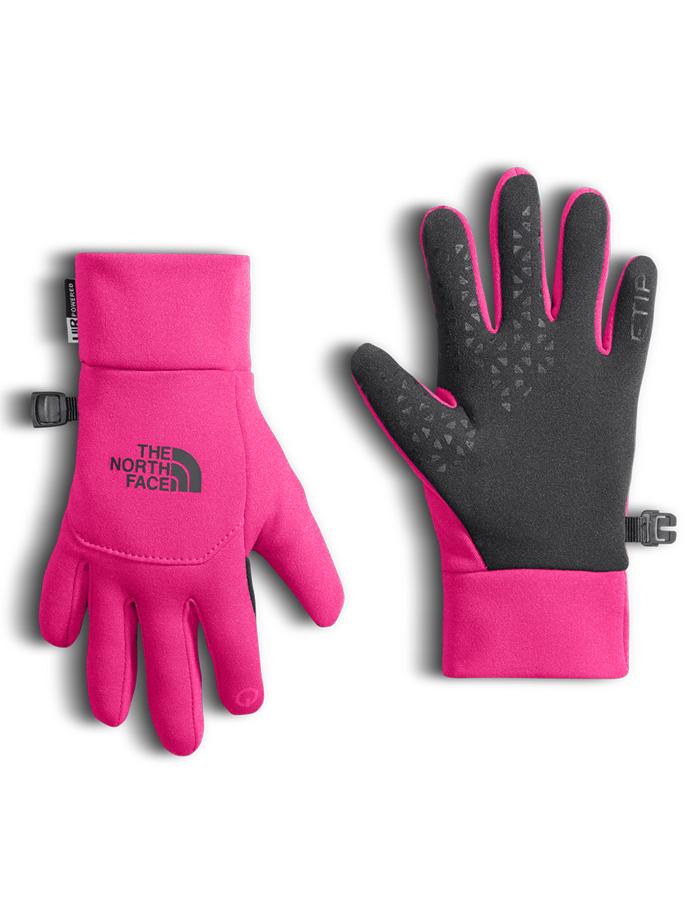 ded92a6a4 Girls' Youth Etip Glove by The North Face in Petticoat pink