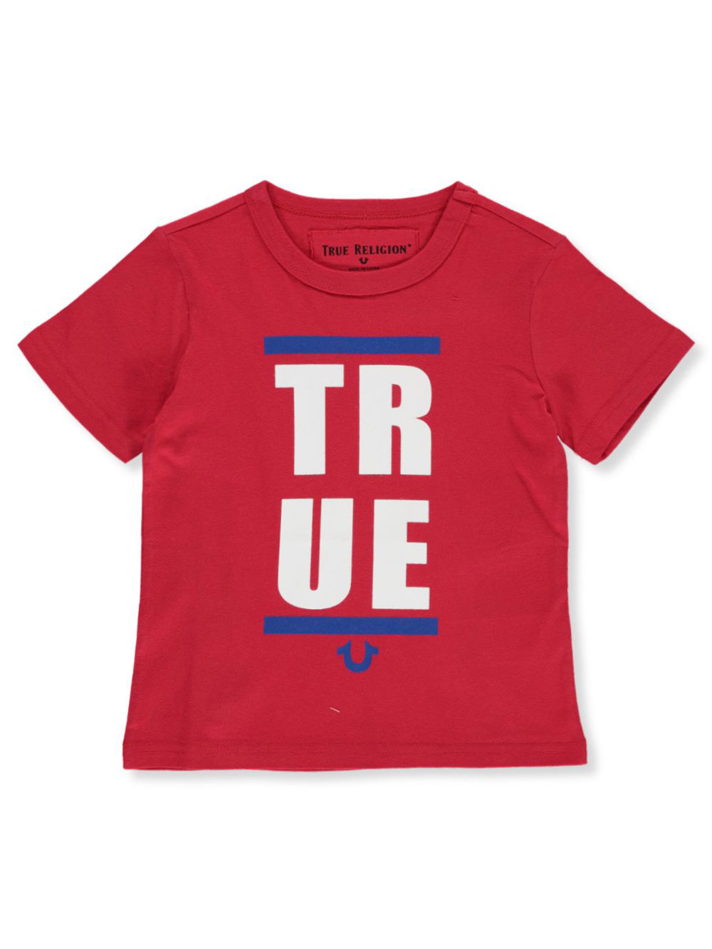 Red and Royal Blue T-Shirts