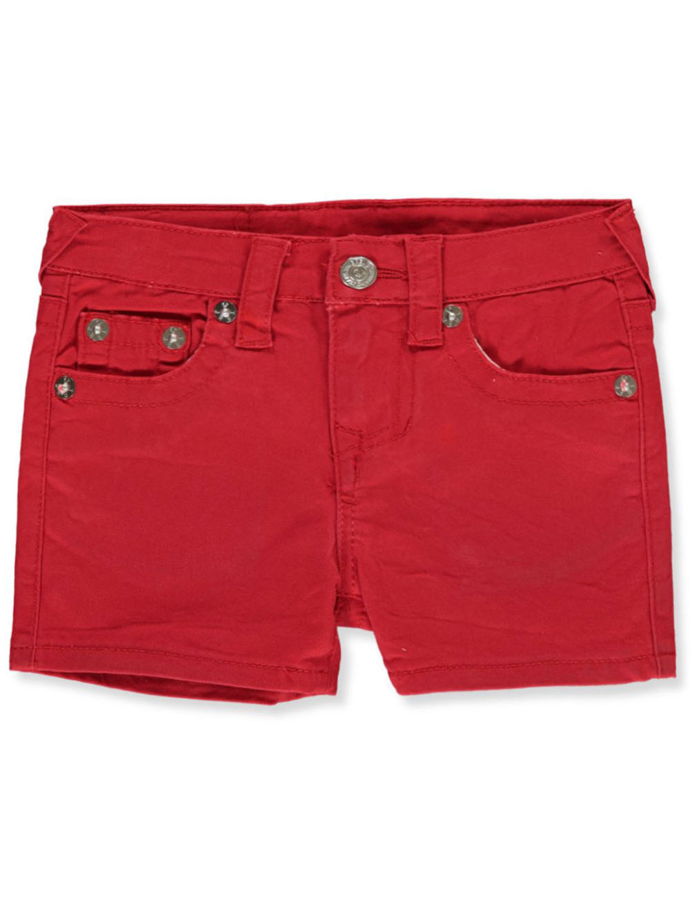 Girls Red Shorts