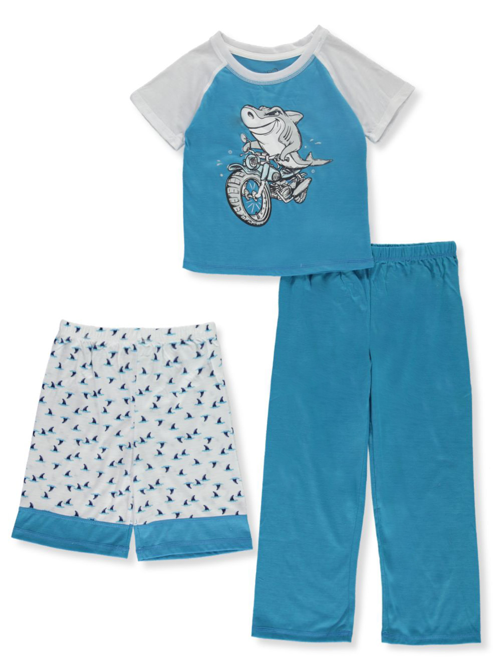 Sleepwear 3-Piece Pajama Set