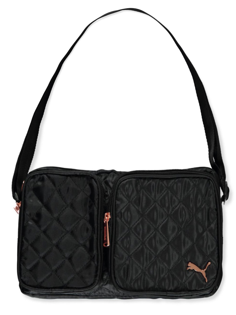 Girls Black Camo Handbags