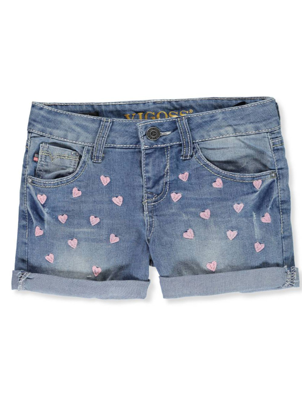 9fdfd7471 Girls' Denim Short Shorts by Vigoss in Strong blue from Cookie's Kids