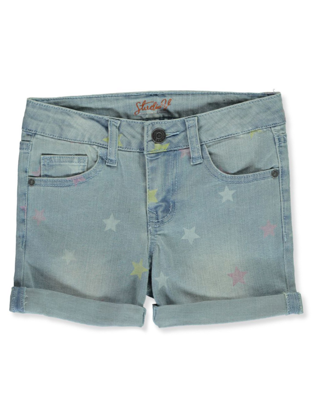 Girls Medium Denim Shorts