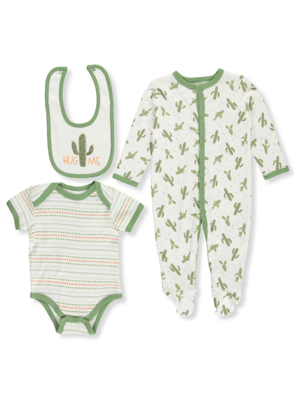 3d6f03cbd48a6 Baby Boys' 3-Piece Layette Set by Bloomin Baby in Green/multi