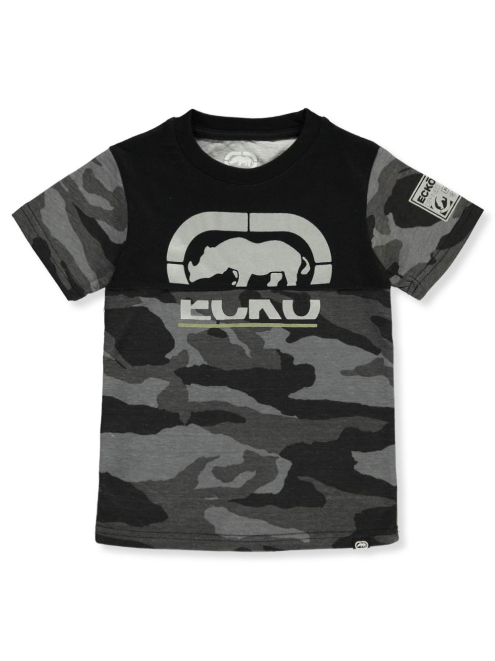 Boys' Camo Colorblock T-Shirt