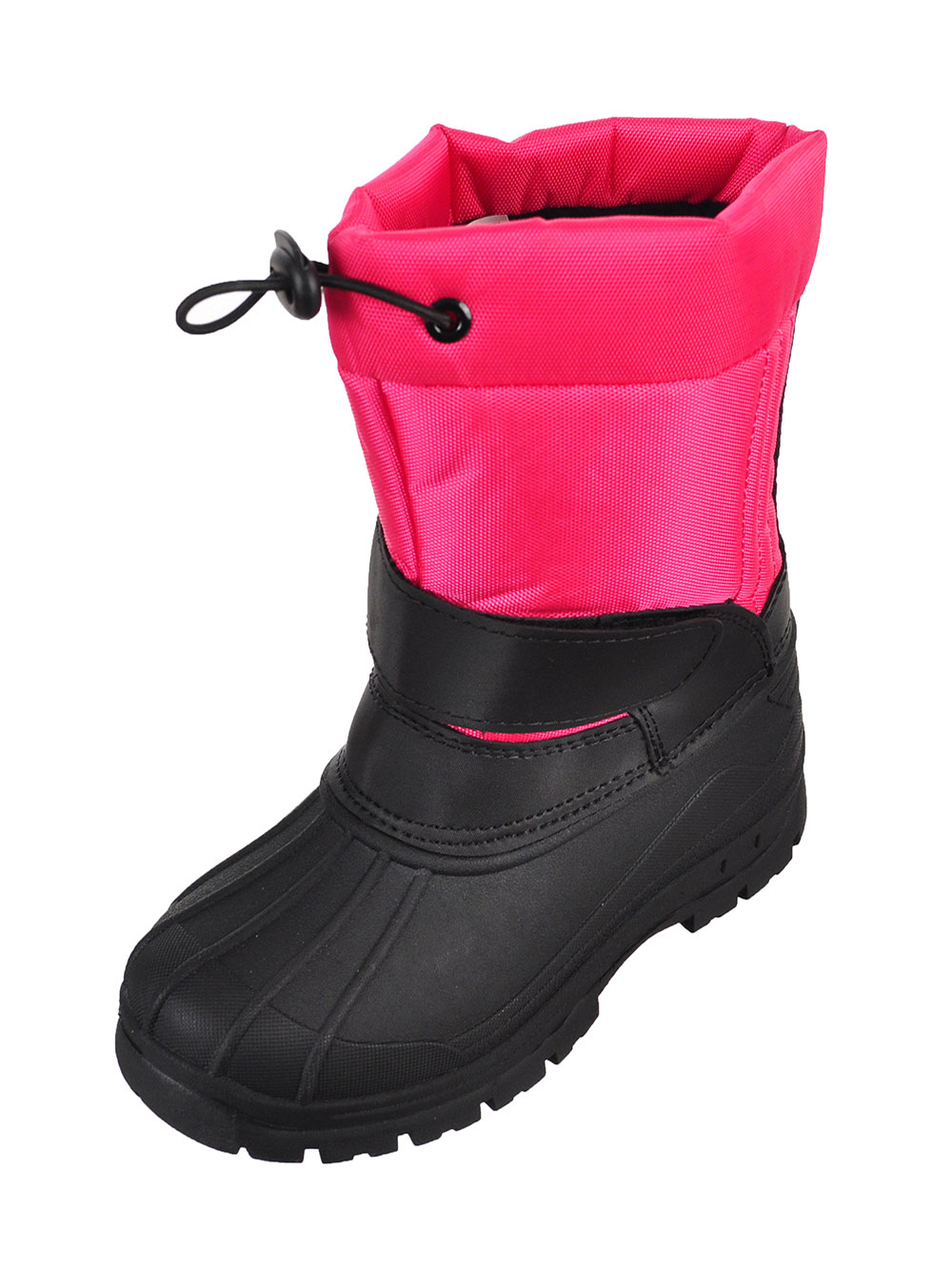 5b420ad63c61b Girls' Winter Boots by Ice20 in Fuchsia/black