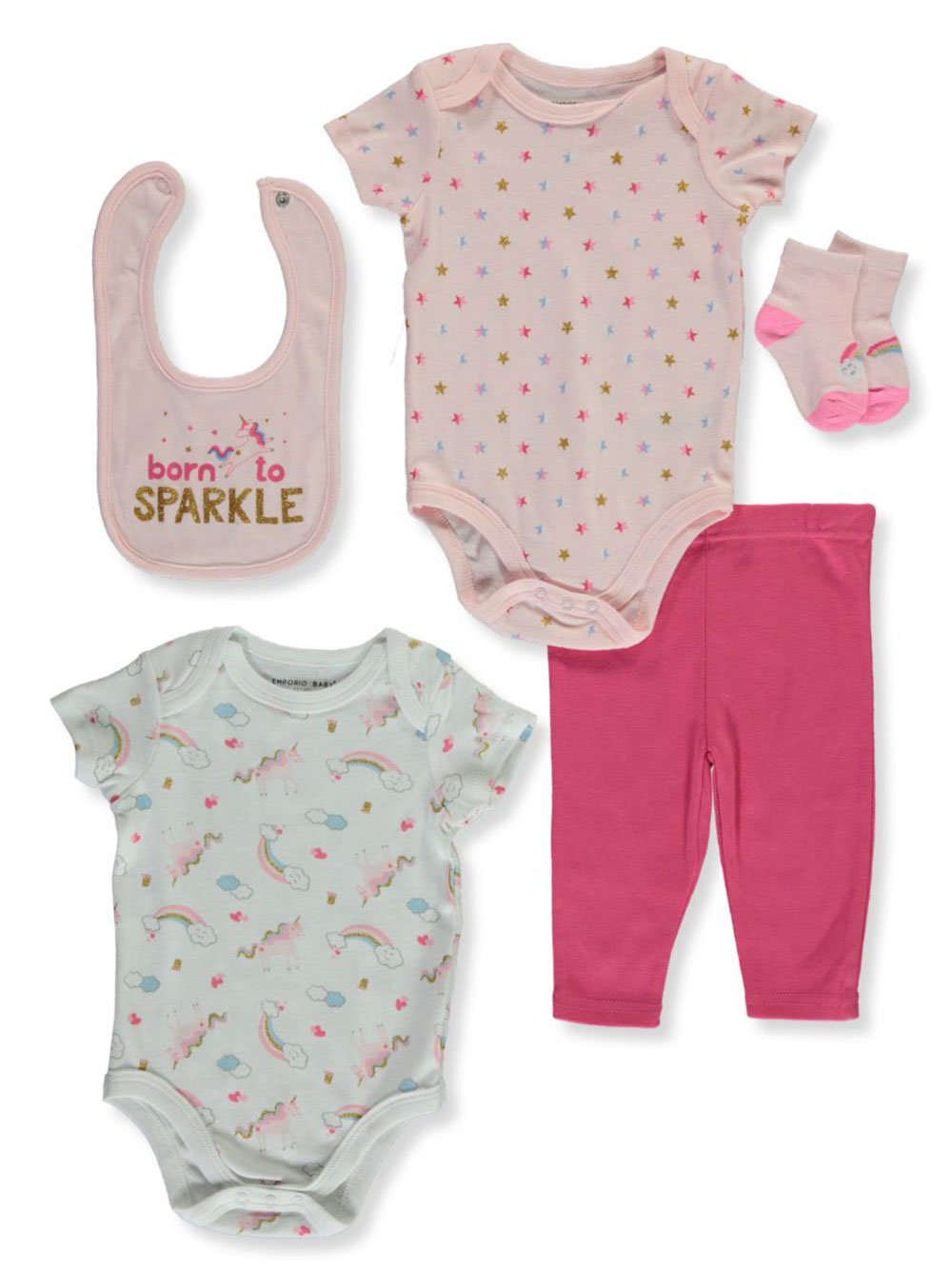 Gift Sets 5-Piece Layette Set
