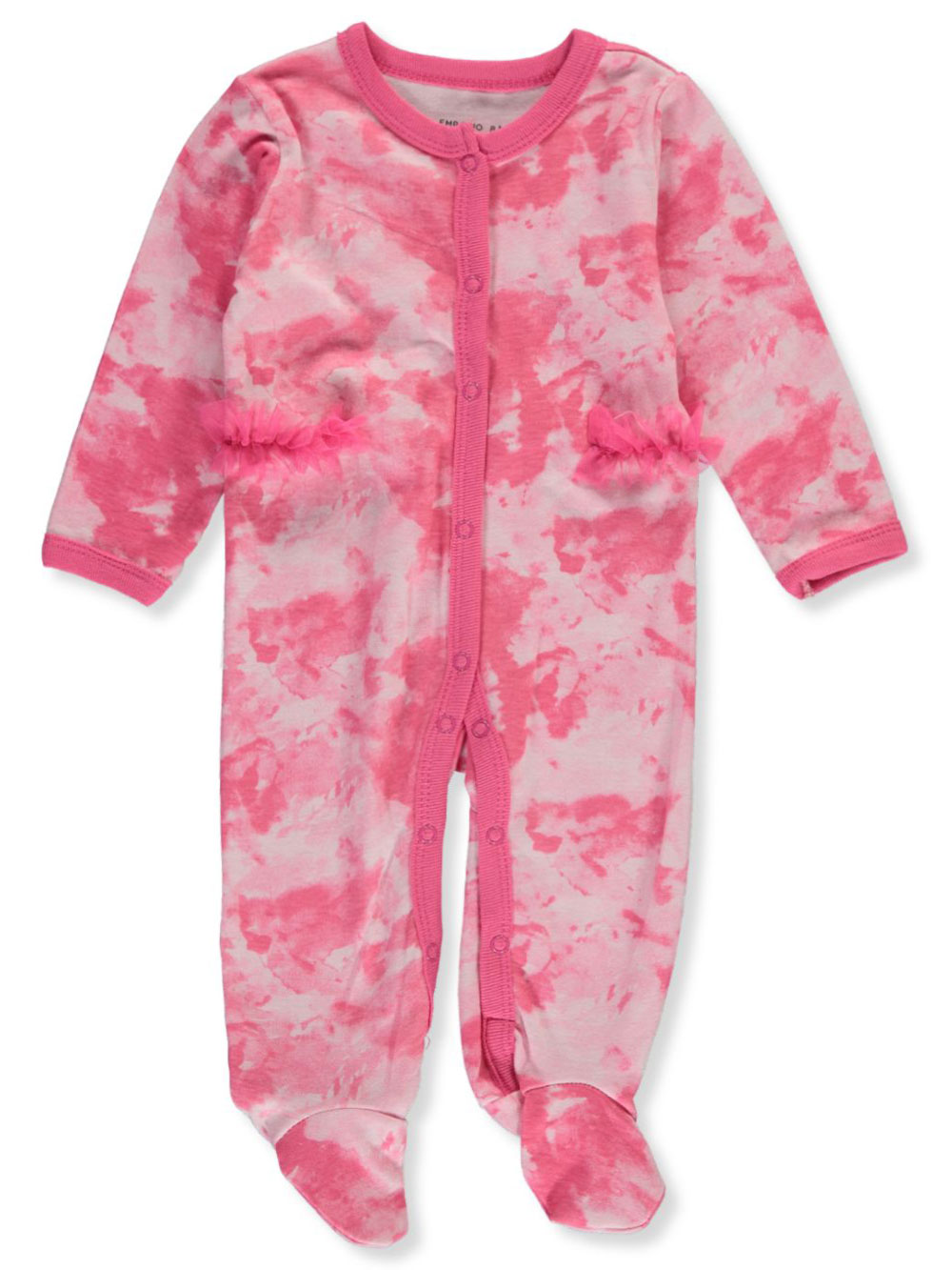 Girls Pink Coveralls