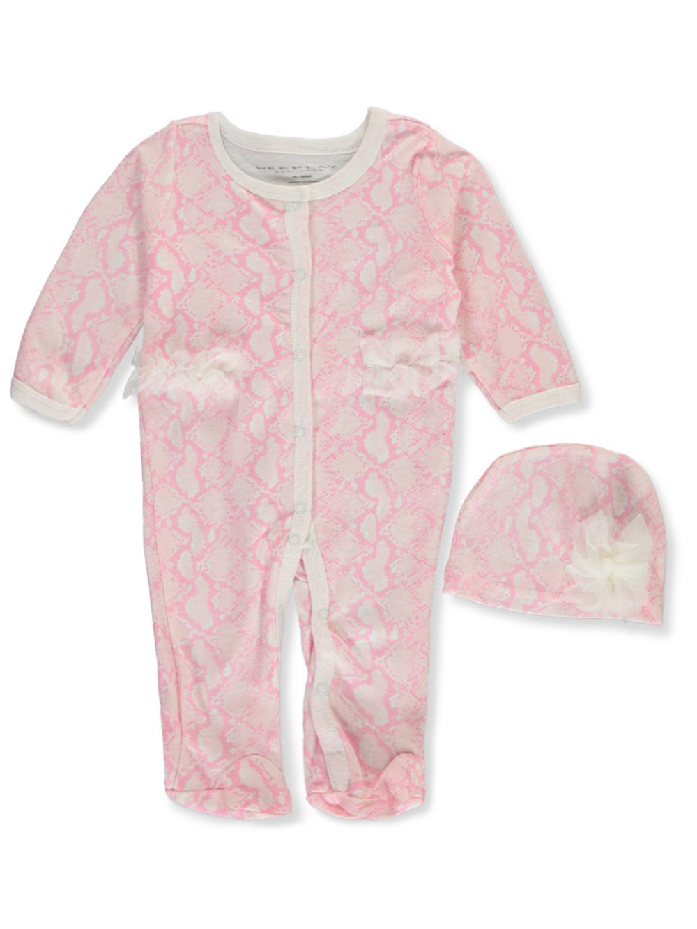 Coveralls 2-Piece Layette Set