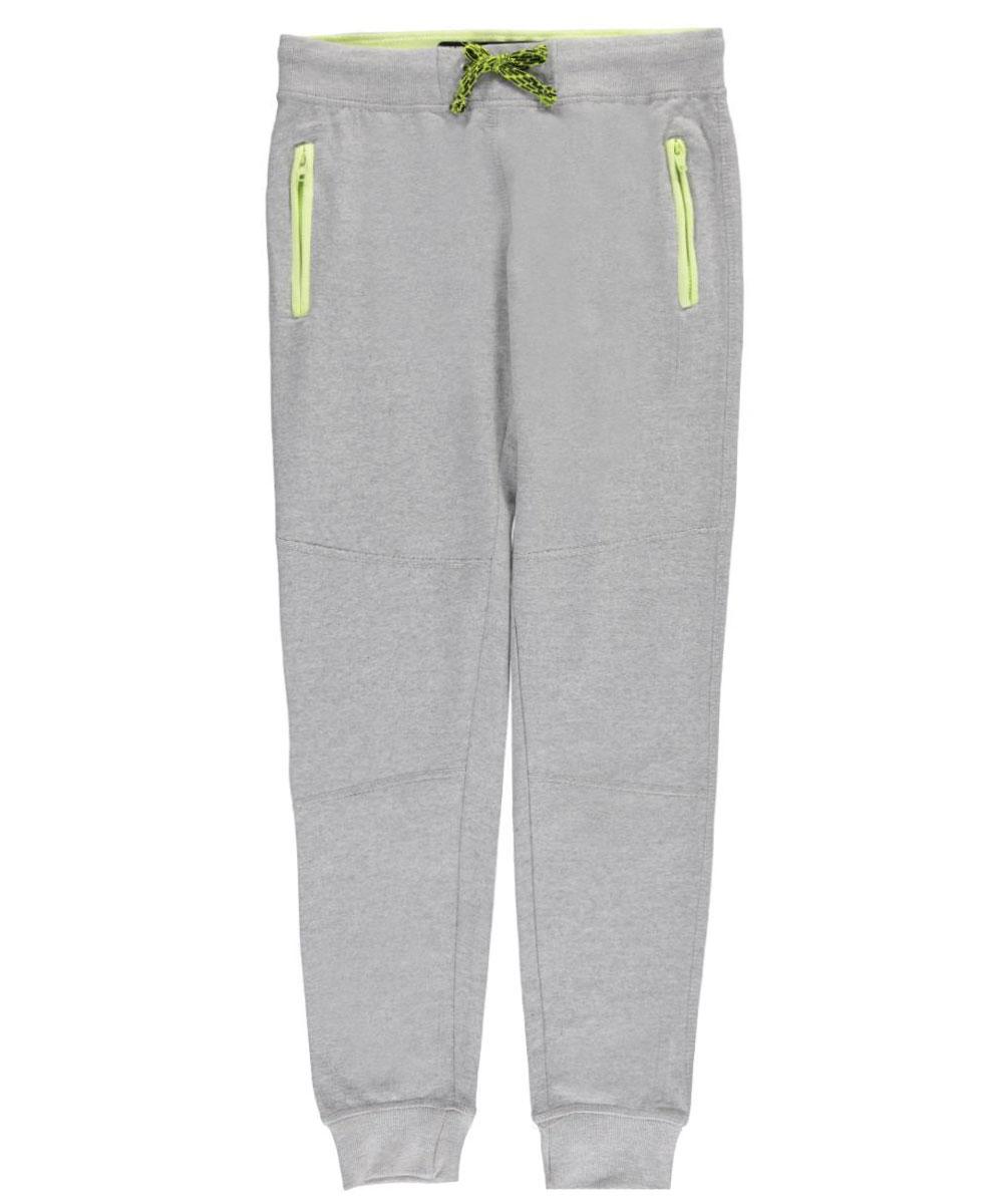 Image of Urban Republic Big Boys Zigzag Sweatpants Sizes 8  20  heather graylime 1416