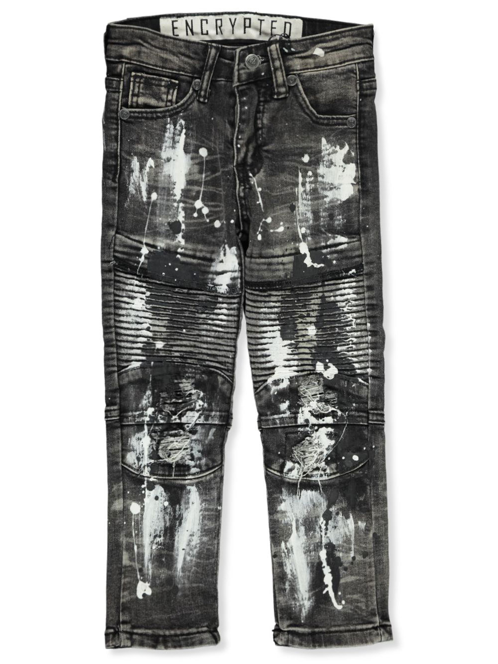 Jeans Paint Splatter Design