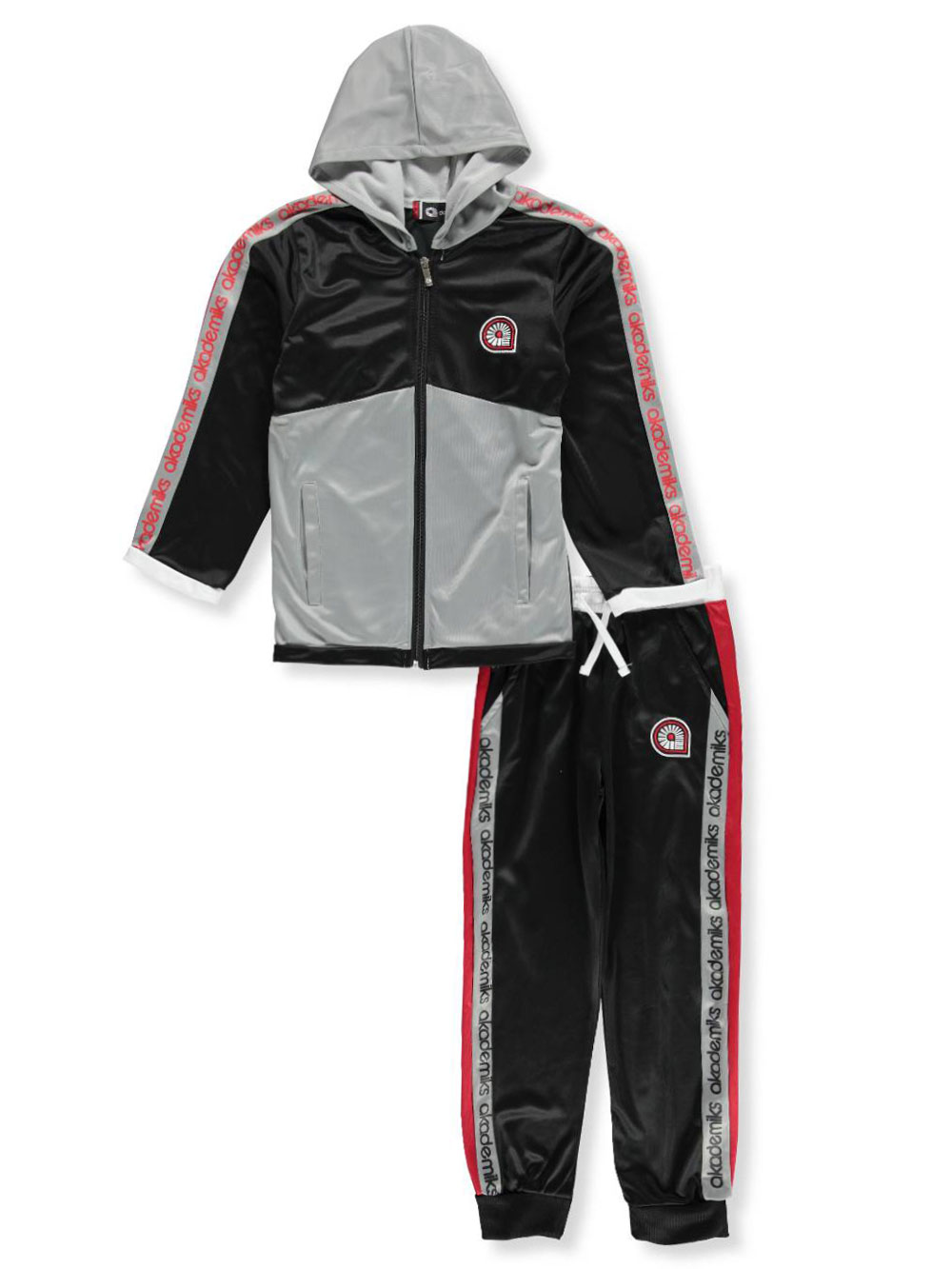 ee979fe854 Akademiks Boys' 2-Piece Tricot Sweatsuit Pants Set