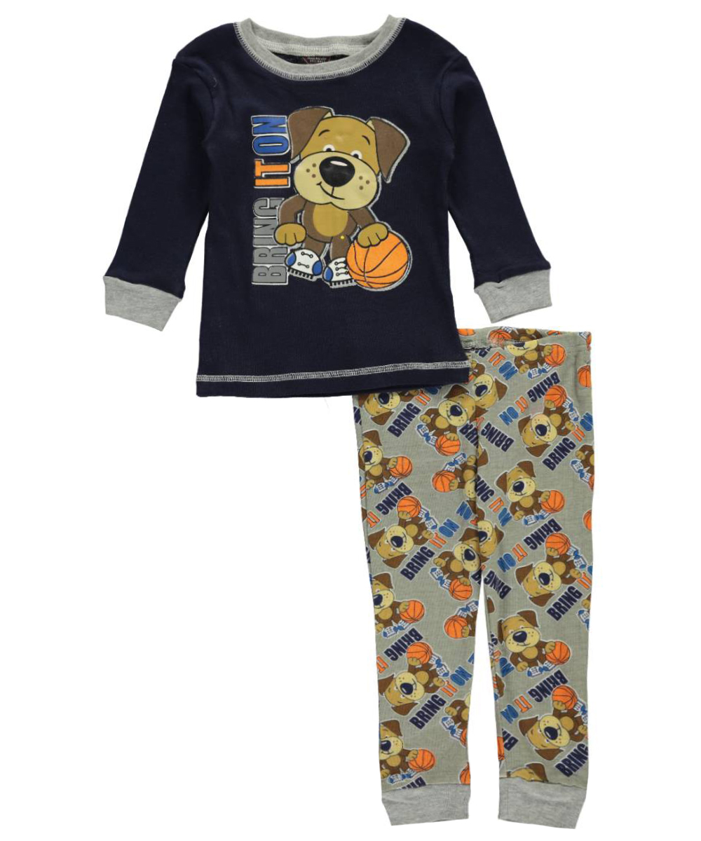 Image of Mac Henry Baby Boys Bring It On 2Piece Pajamas  navymulti 12 months