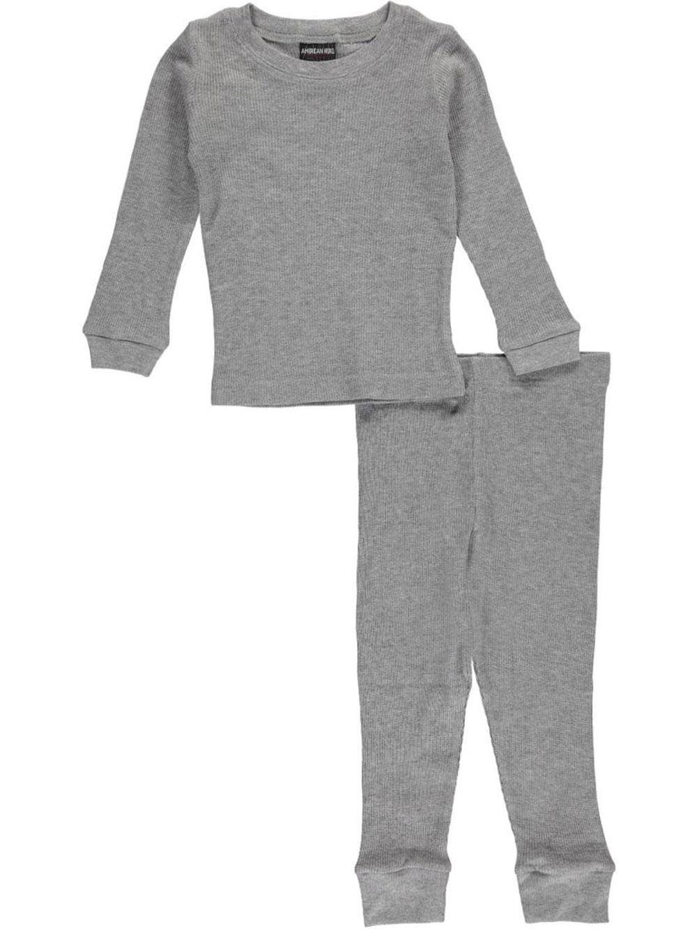 3c2aa6a91 American Hero Little Boys' 2-Piece Thermal Long Underwear (Sizes 4 ...