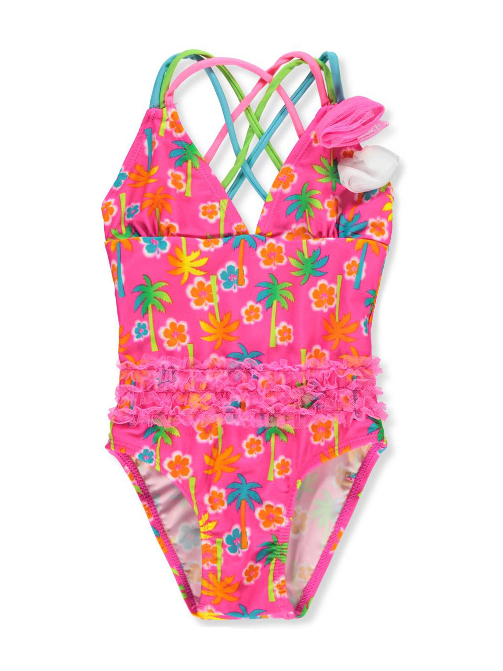 547871f452 Real Love Baby Girls' 1-Piece Swimsuit