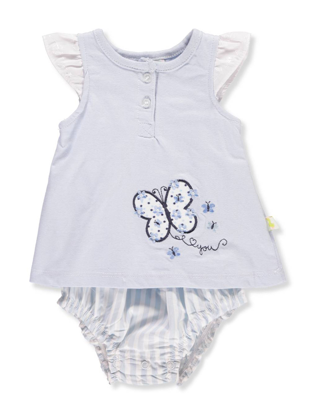 Duck Duck Goose Baby Girls Dress Bodysuit Combo