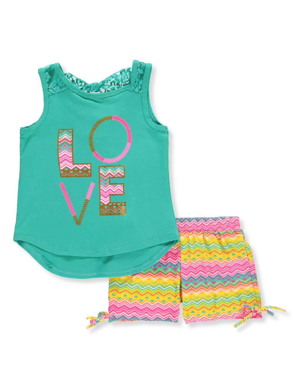 Real Love Baby Girls' 2-Piece Outfit - CookiesKids.com