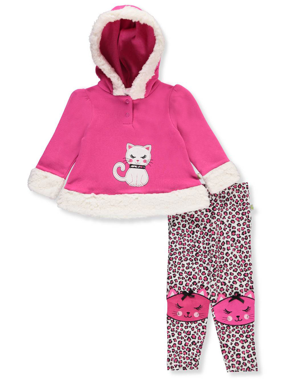 Duck Duck Goose Baby Girls 2 Piece Pants Set Outfit