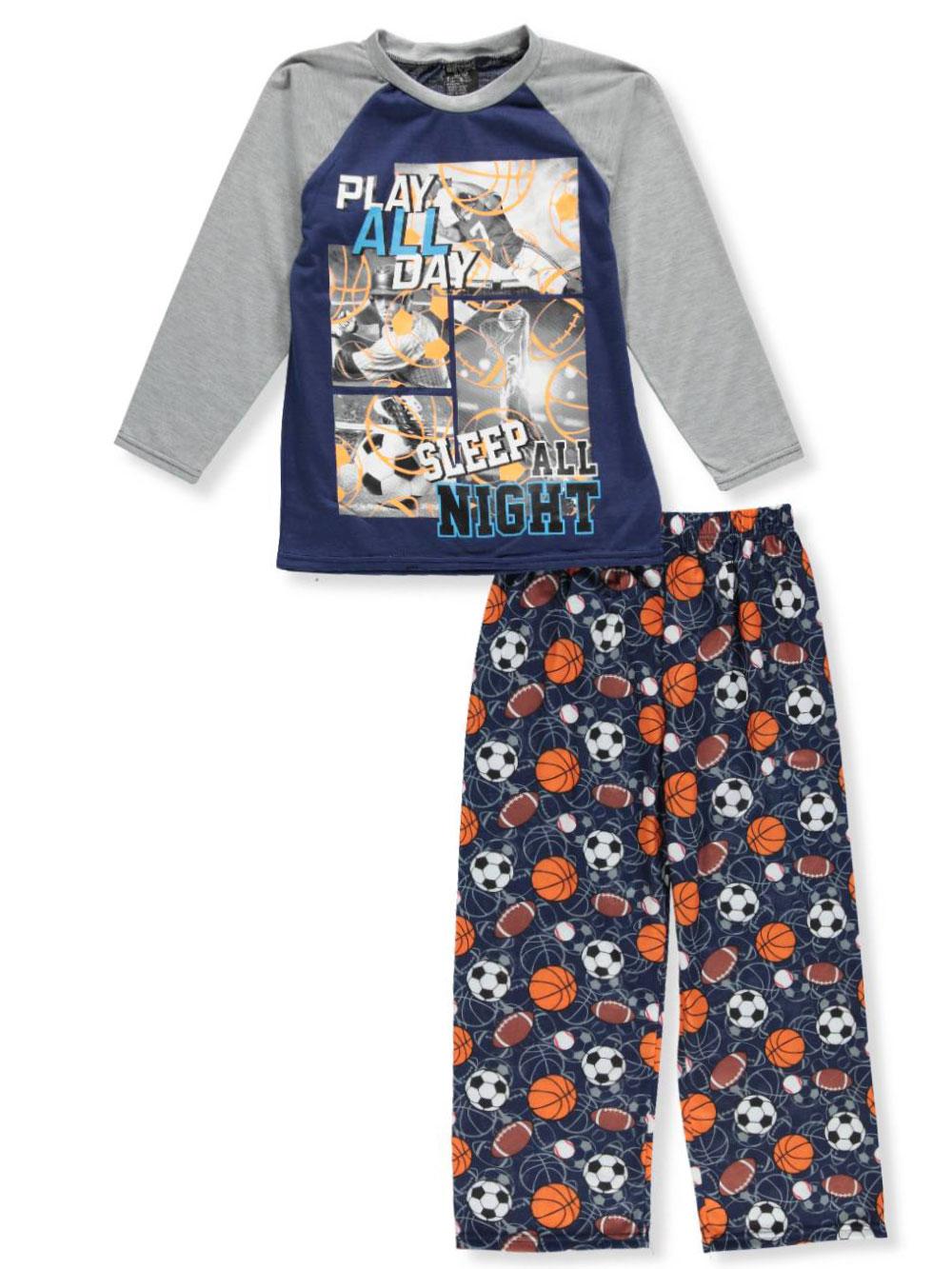 Quad Seven Boys/' 2-Piece Pajama Set