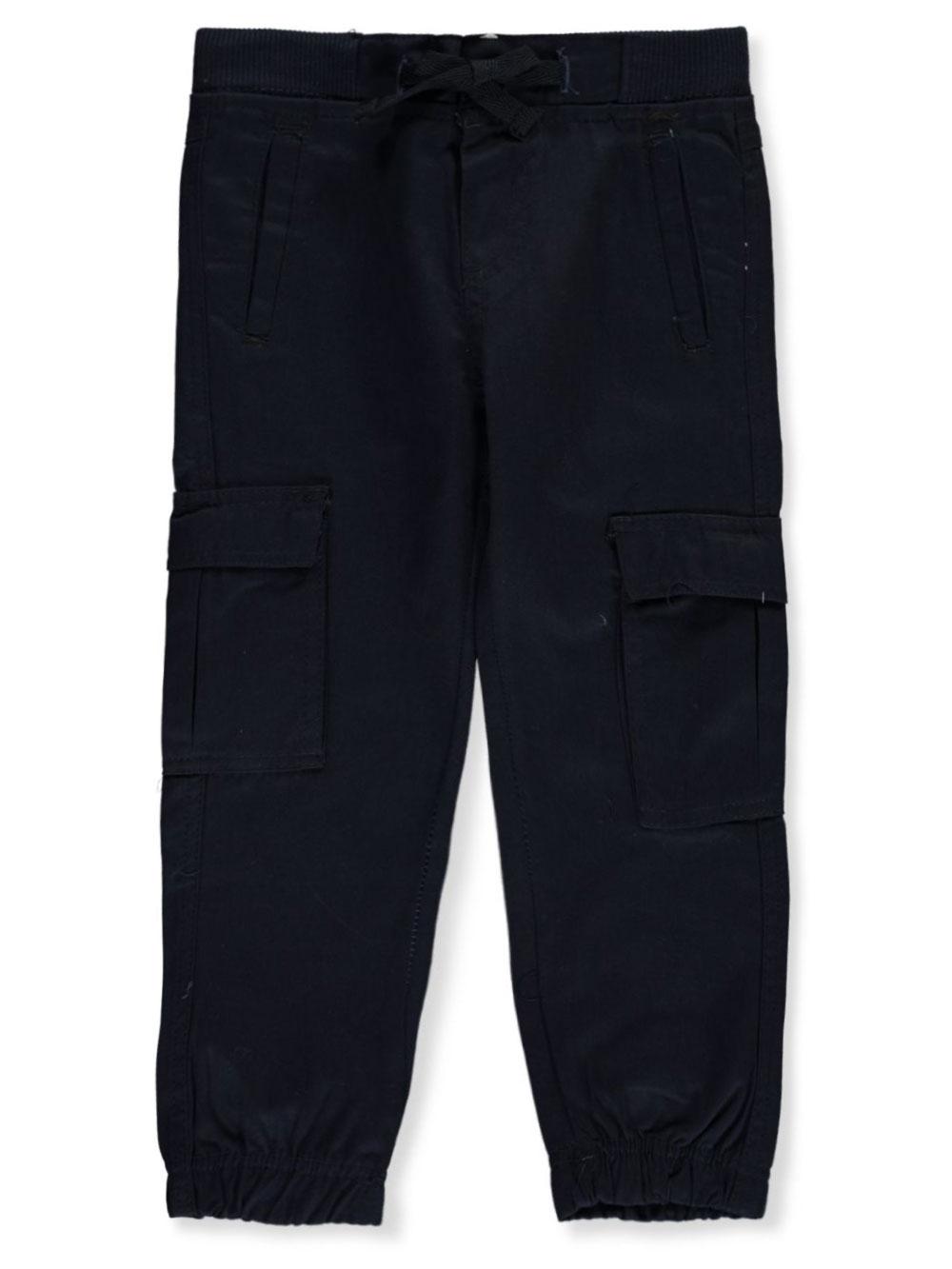 Quad Seven Boys Camo Print Twill Jogger Pants