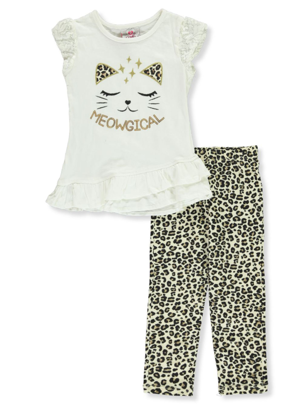 Real Love Girls 2-Piece Leggings Set Outfit