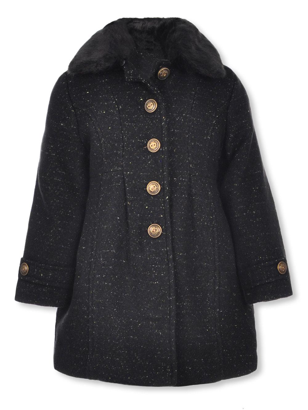 1dcfa7b7c Girls' Coat by Jessica Simpson in Black