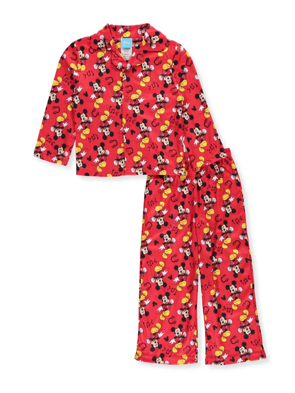 e741311f7 Disney Mickey Mouse Little Boys  Toddler 2-Piece Pajamas (Sizes 2T ...