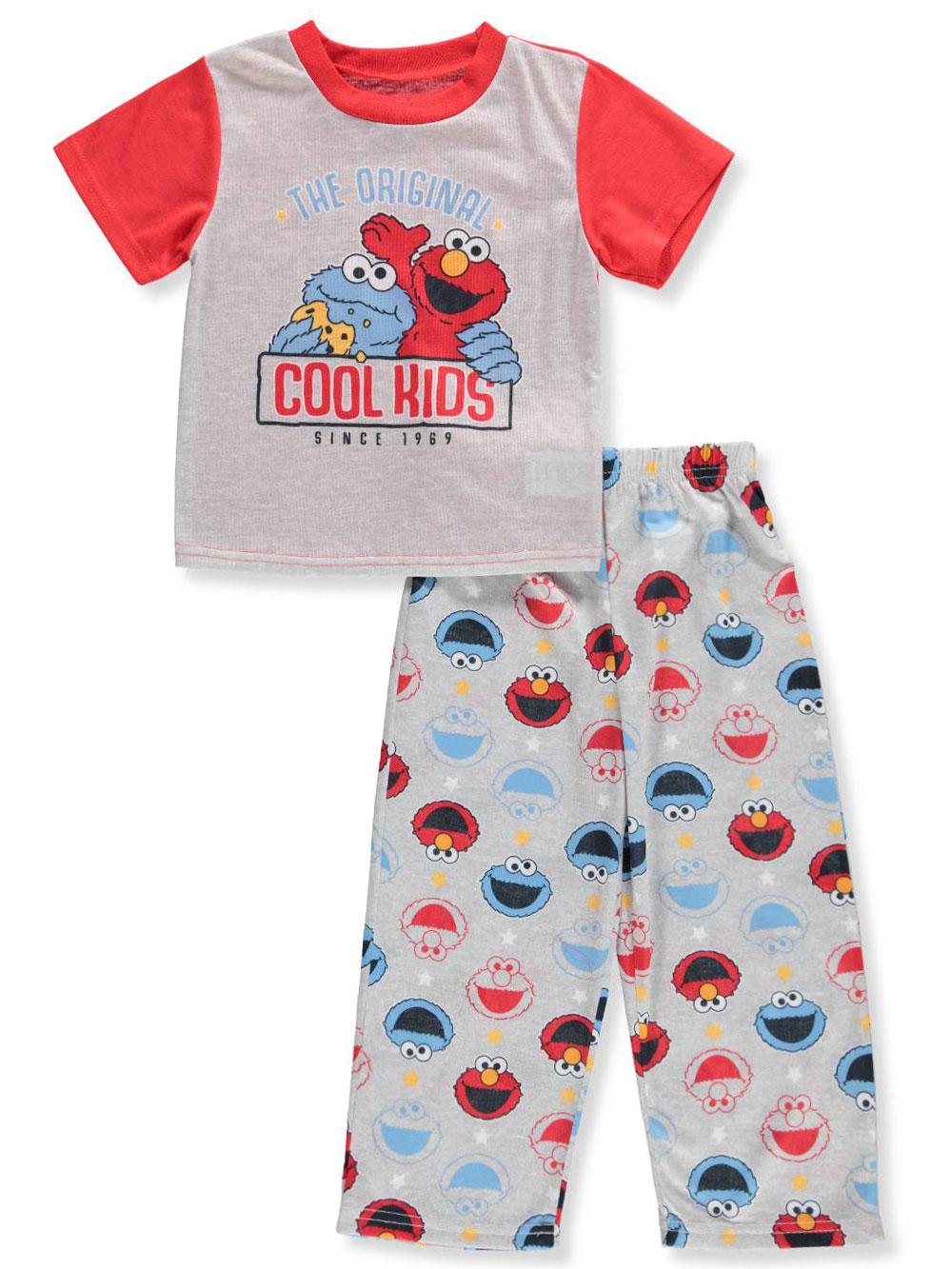 4ddececcf Sesame Street Boys  2-Piece Pajamas