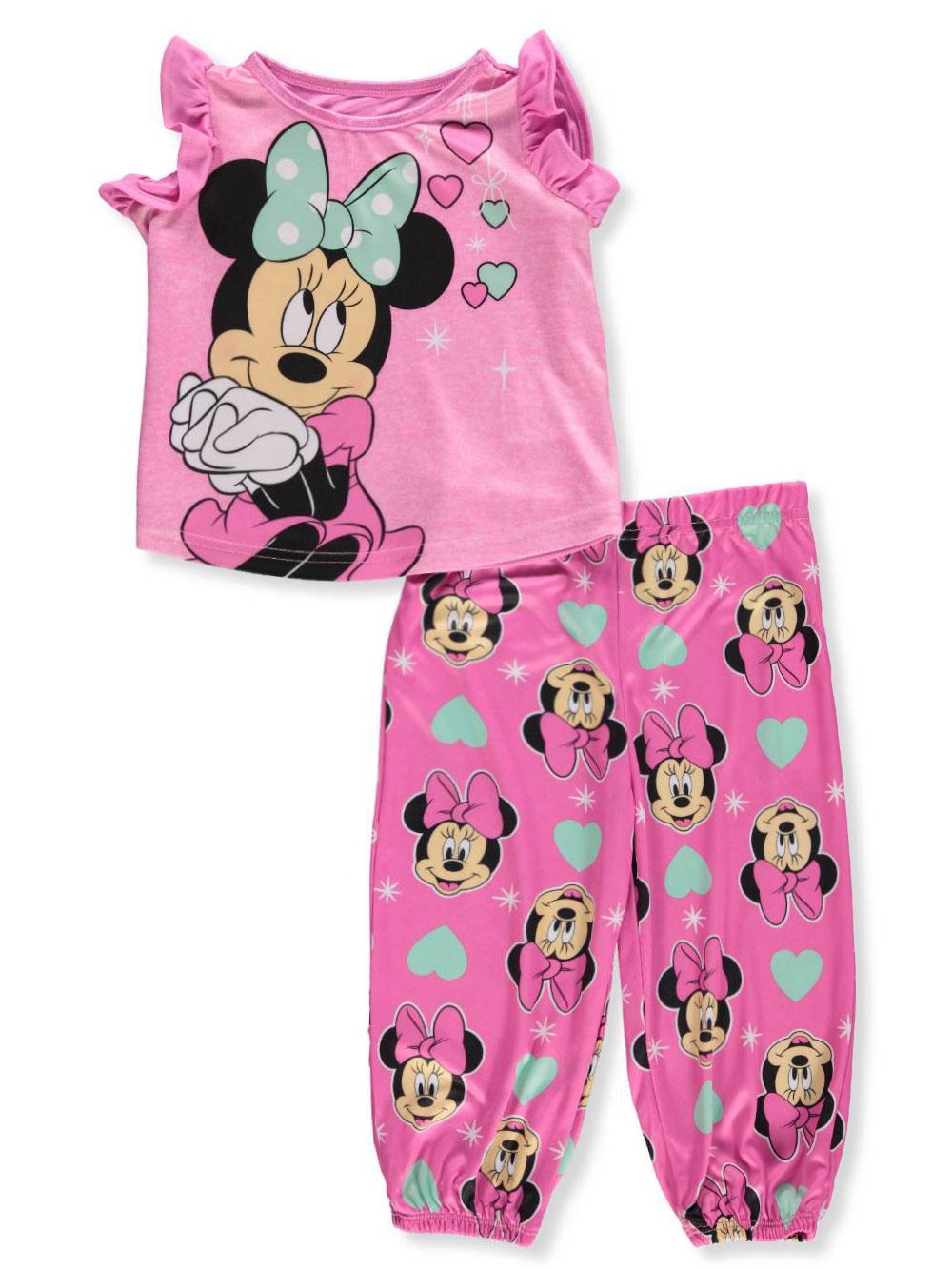 612b091e7 Disney Minnie Mouse Baby Girls  2-Piece Pajamas