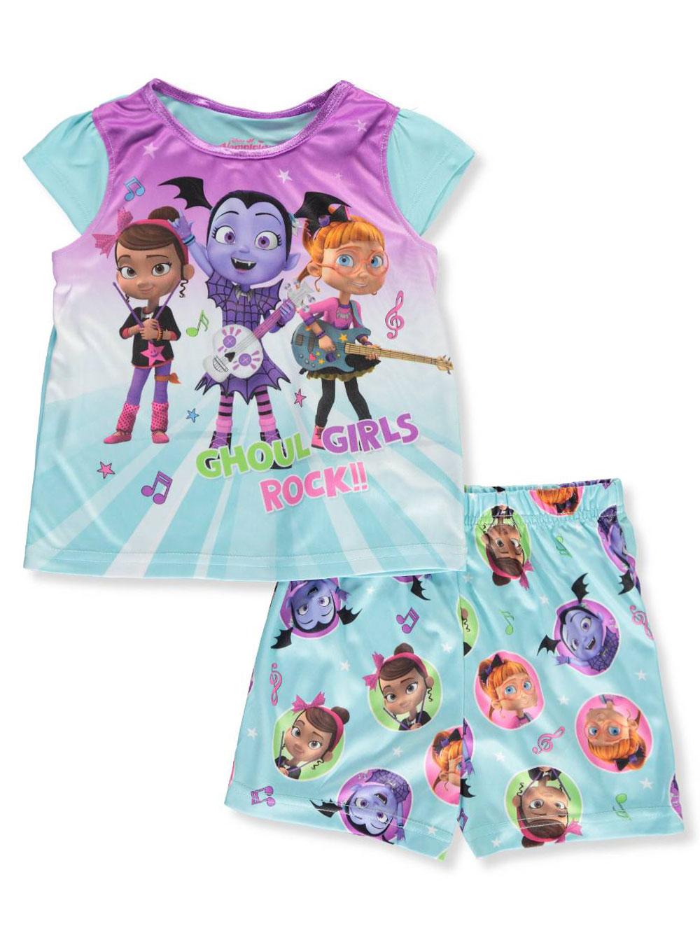 479d82fb1 Vampirina Girls' 2-Piece Pajamas by Disney in Aqua/multi from ...