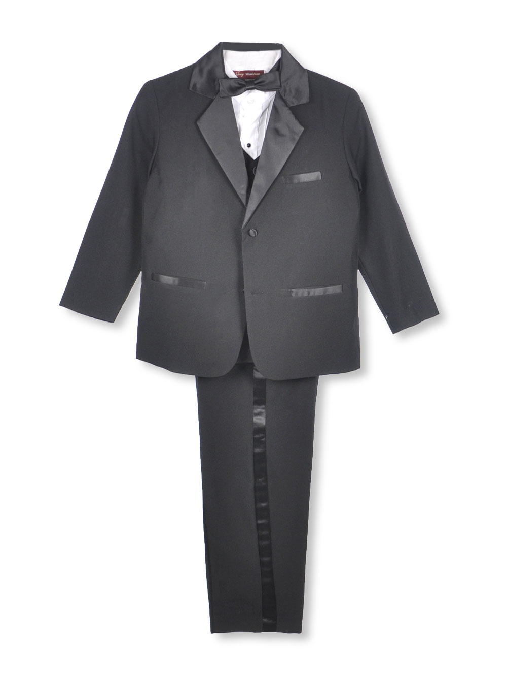 Pretty Me Boys Kaifer 5-Piece Tuxedo (Sizes 8 - 20) at Sears.com