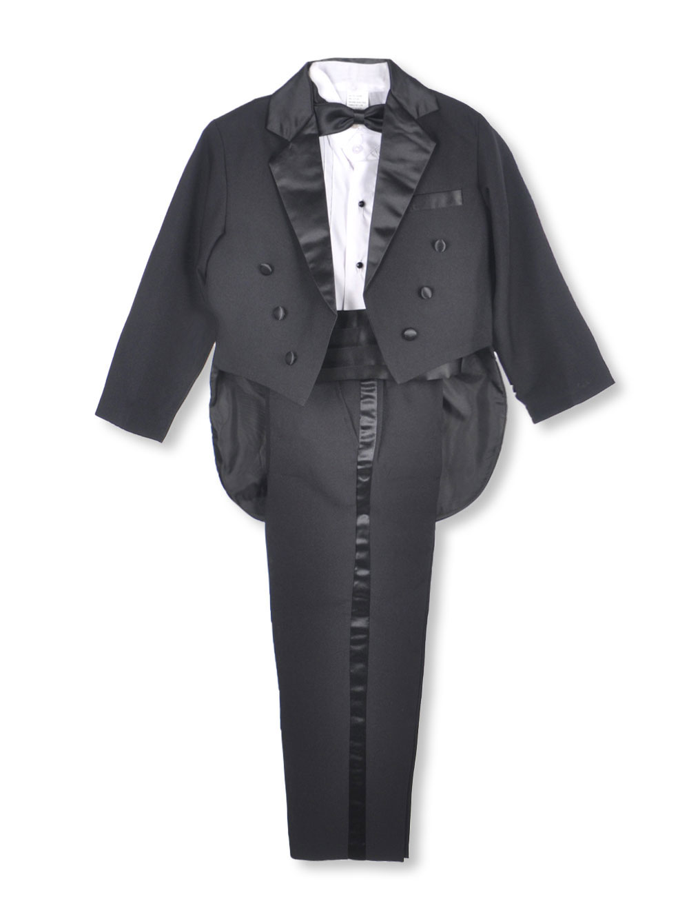 Kaifer Boys Kaifer 5-Piece Tuxedo with Tails (Sizes 8 - 20) at Sears.com