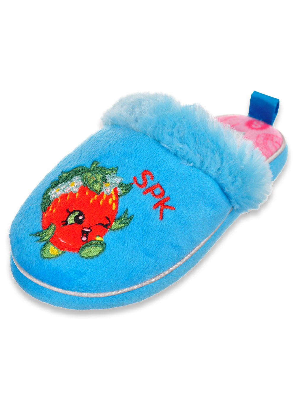 f3ef0a42803 Girls  Slippers by Shopkins in fuchsia and turquoise from Cookie s Kids