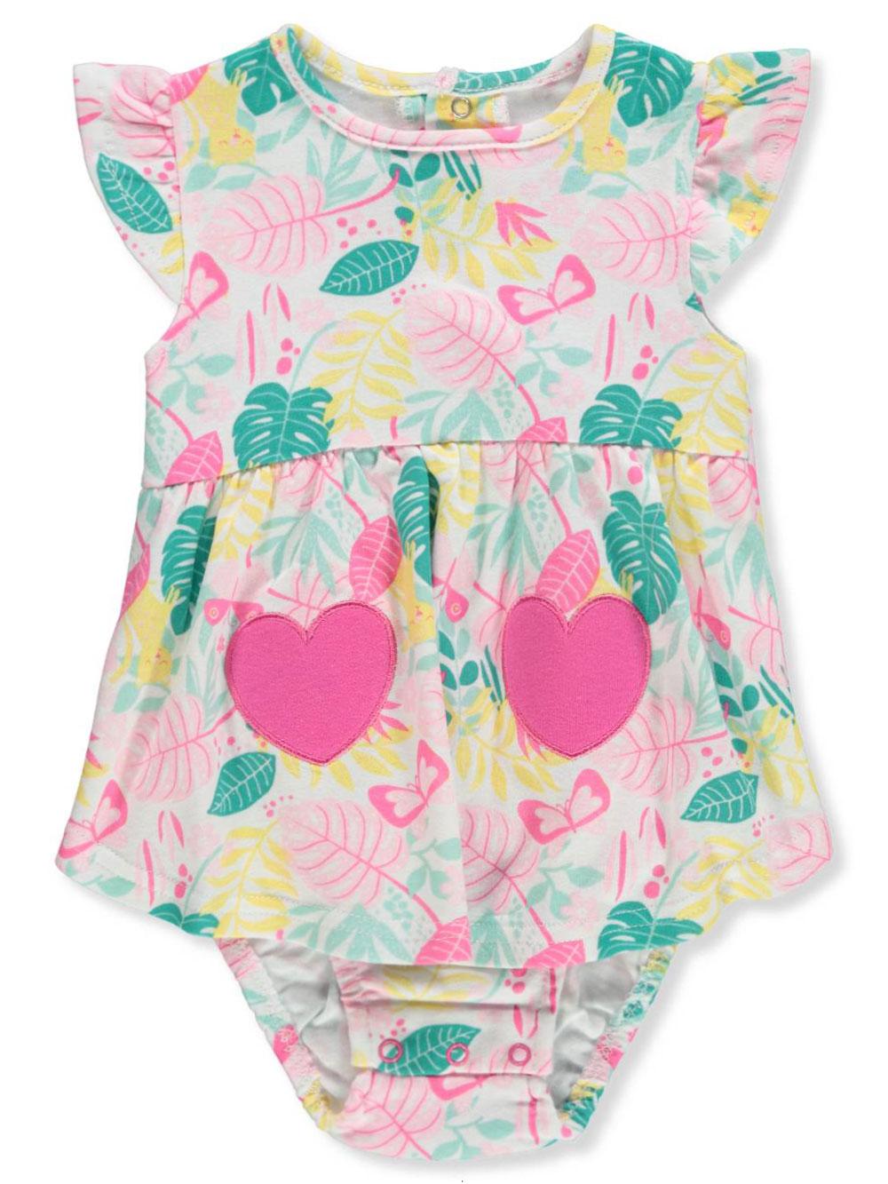 cde7ca8cf Bon Bebe Baby Girls  Dress Bodysuit Combo