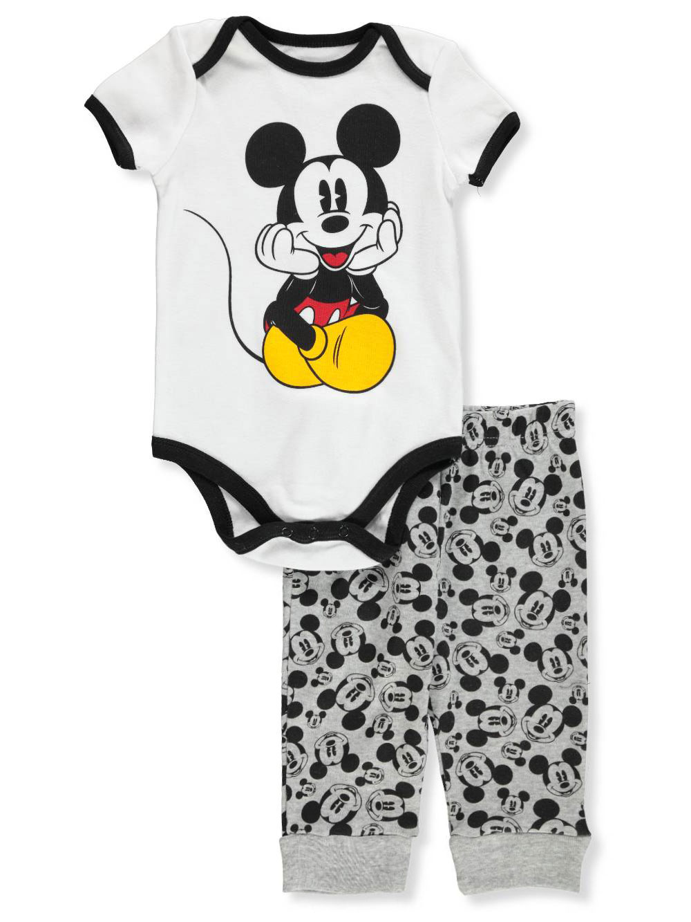 2cc8577c55a Disney Mickey Mouse Baby Boys' 2-Piece Pants Set Outfit
