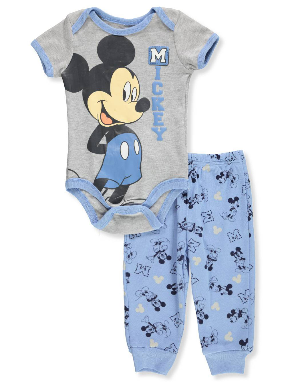 2019 Latest Design Baby Boy Disney Mickey Top And Joggers Set 3-6 Months Outfits & Sets Boys' Clothing (newborn-5t)