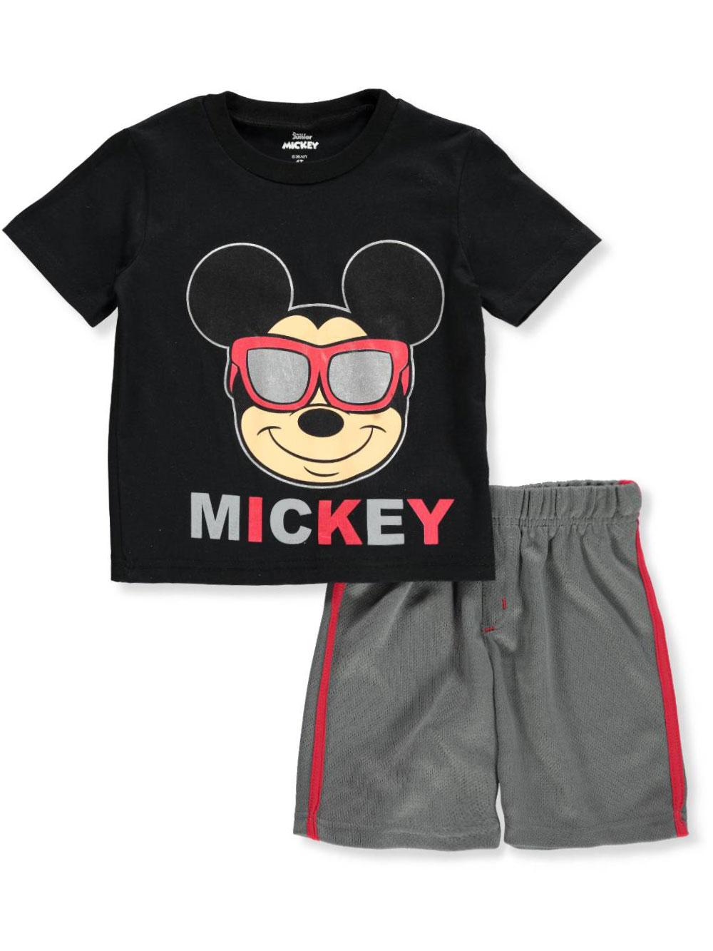 ac0e39964372ed Disney Mickey Mouse Boys' 2-Piece Shorts Set Outfit