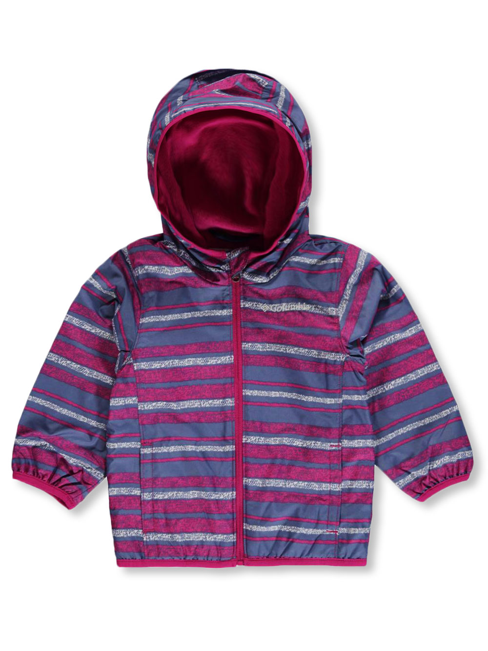 "133cf639e Columbia Baby Girls  ""Mini Pixel Grabber II"" Wind Jacket"