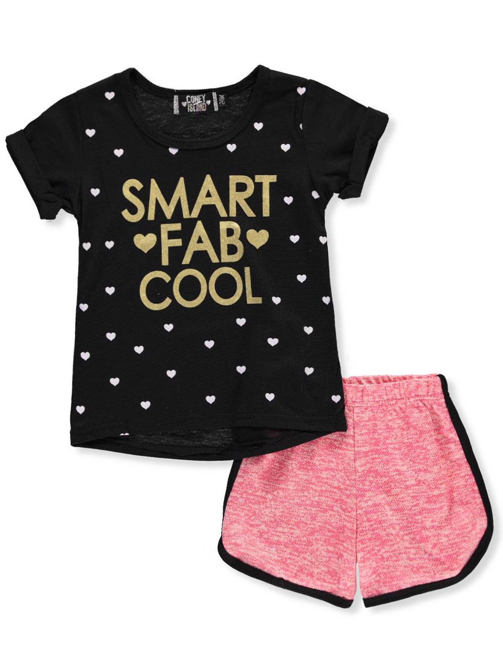 Coney Island Baby Girls' Outfit - CookiesKids.com