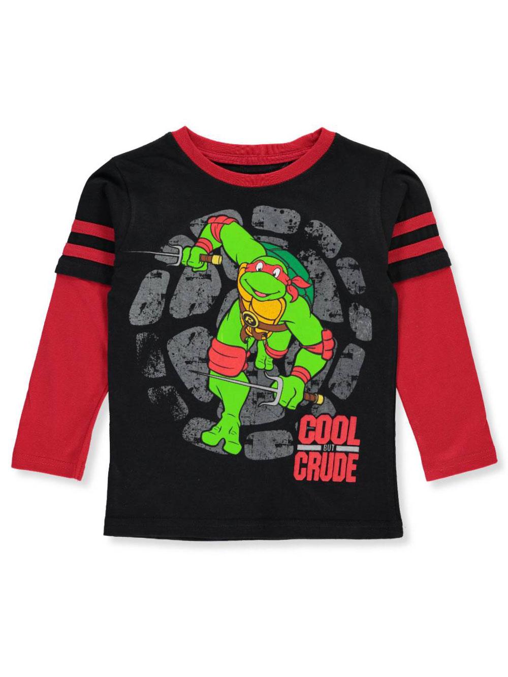 TMNT Teenage Mutant Ninja Turtles Toddler Boys 2 Pack Short Sleeve T-Shirt Set