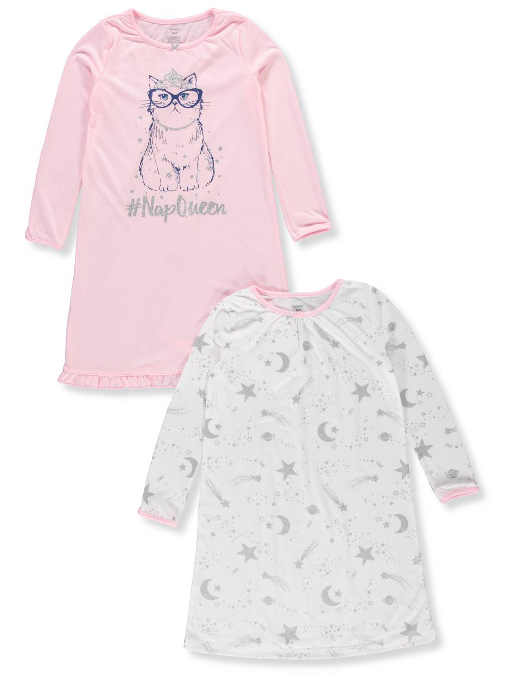 181084ad1e5b Carter s Girls  2-Pack Nightgowns