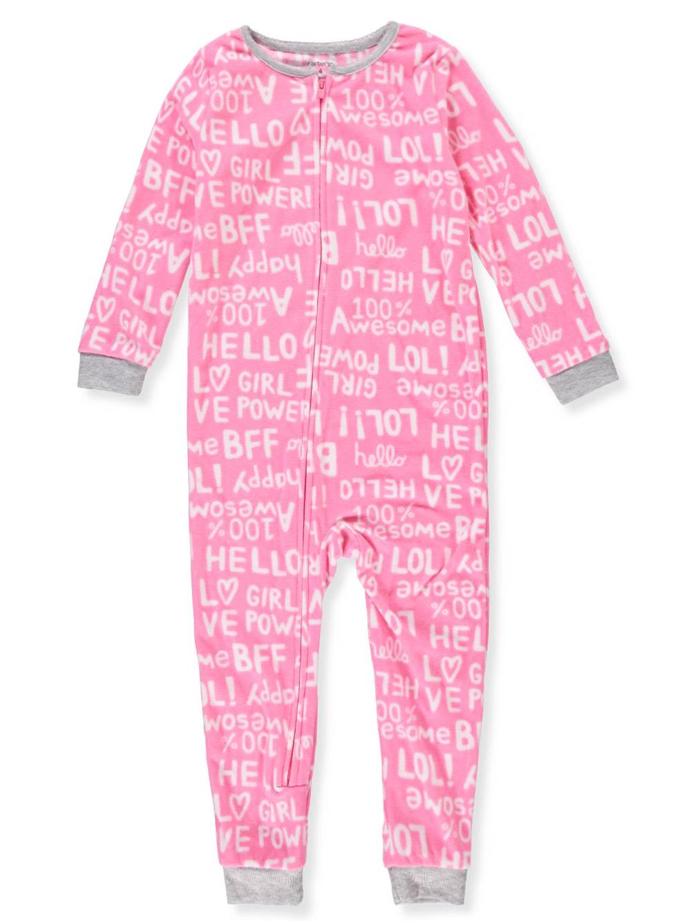 8f331248f Carter s Girls  1-Piece Pajamas