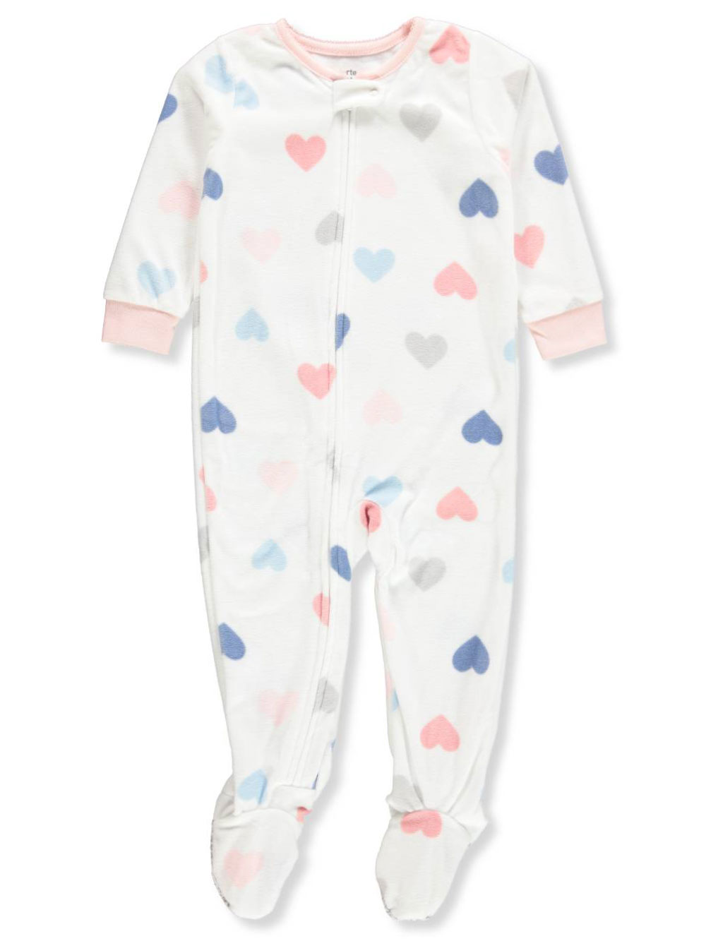 82aa502cb Carter s Baby Girls  1-Piece Footed Pajamas