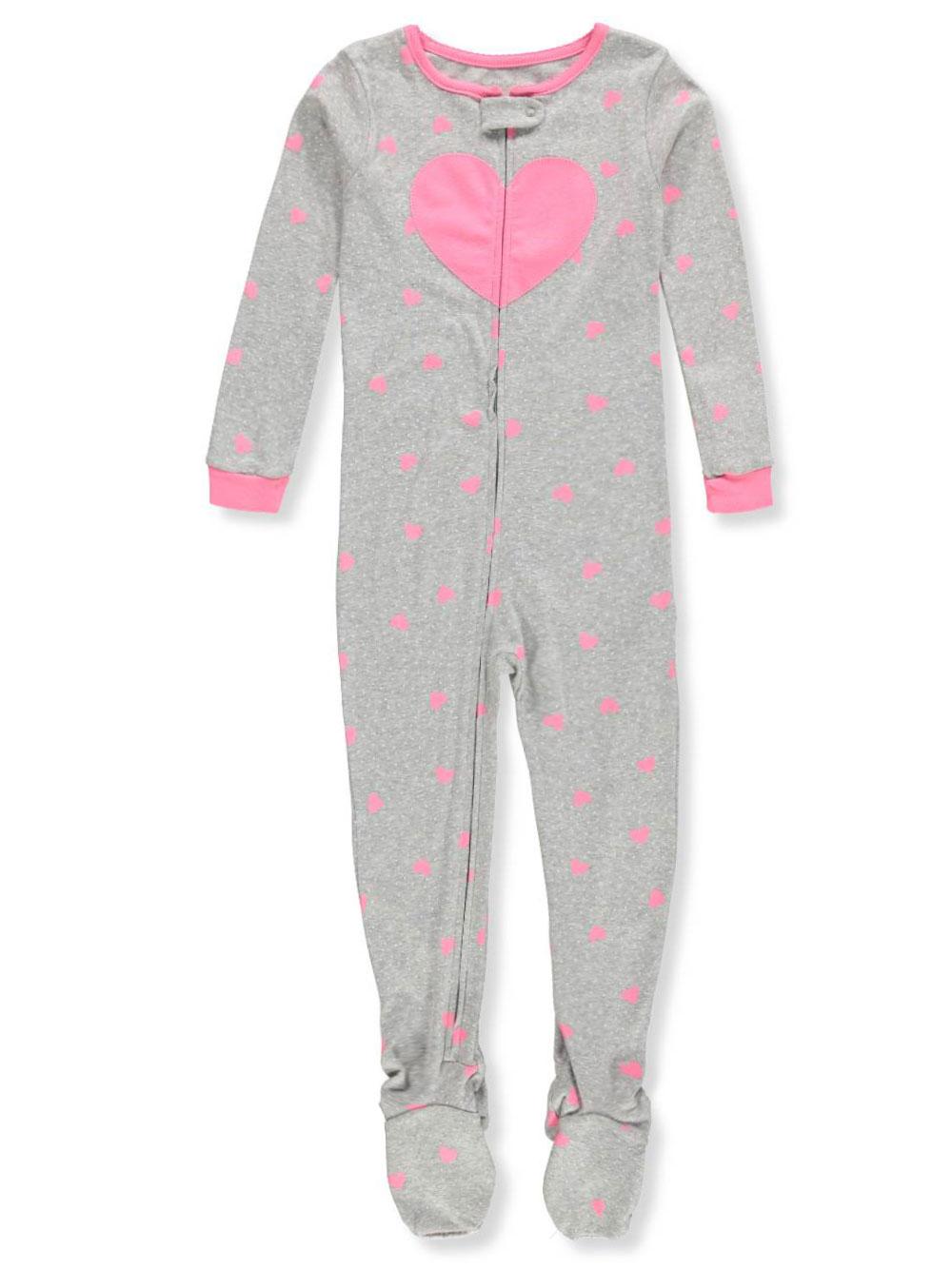 1b01938dc Carter s Girls  1-Piece Footed Pajamas