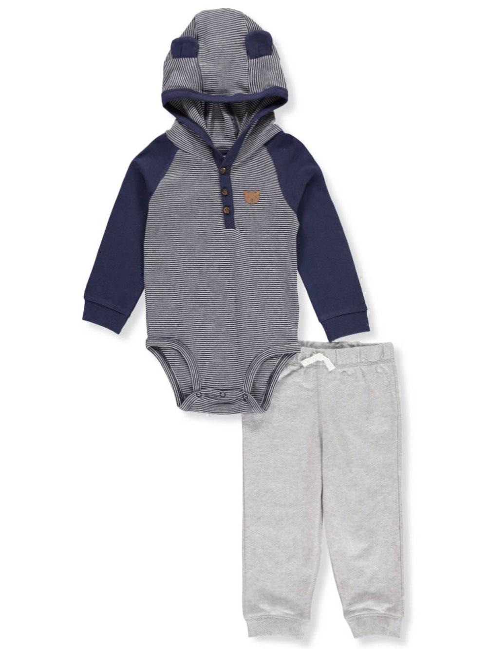 NEW Boy/'s CARTER/'S ATHLETIC Dept NAVY 2-Piece Fleece Hoody /& Jogger 3T