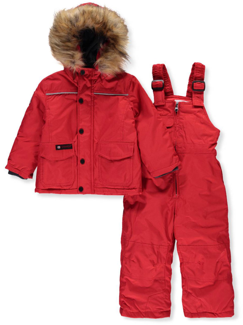 703242868 Canada Weather Gear Baby Girls  2-Piece Snowsuit