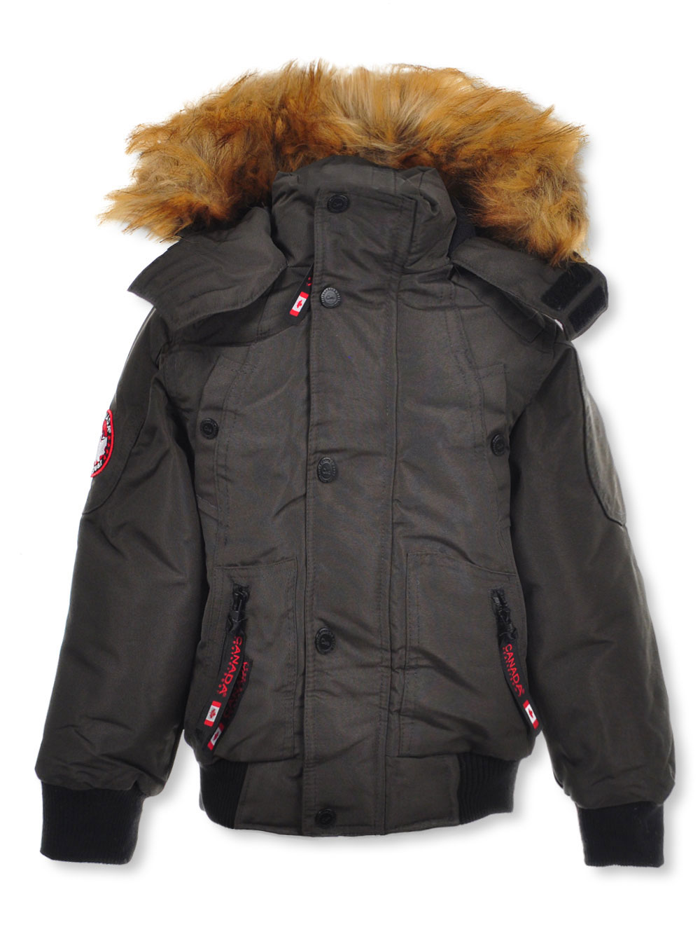 ad3c6a5e6 Canada Weather Gear Boys' Insulated Jacket